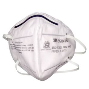 3M 9504 IN Particulate Respirator Mask front
