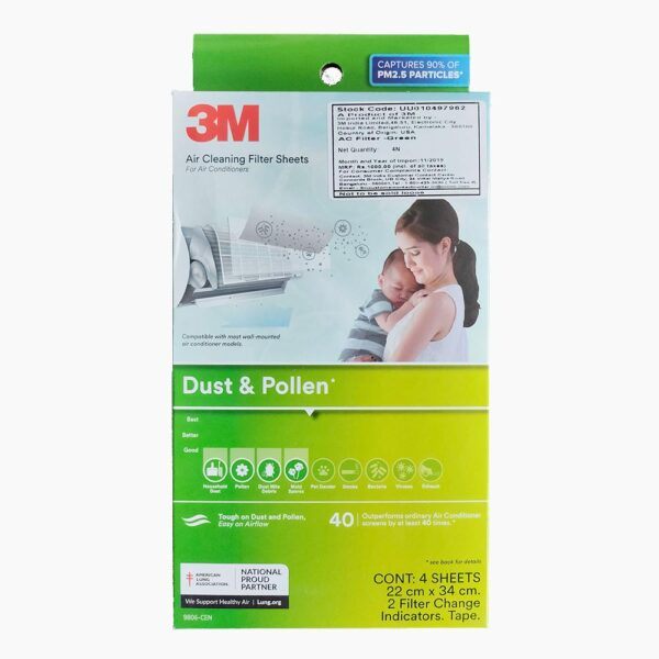 3M Air Cleaning Filter Sheets