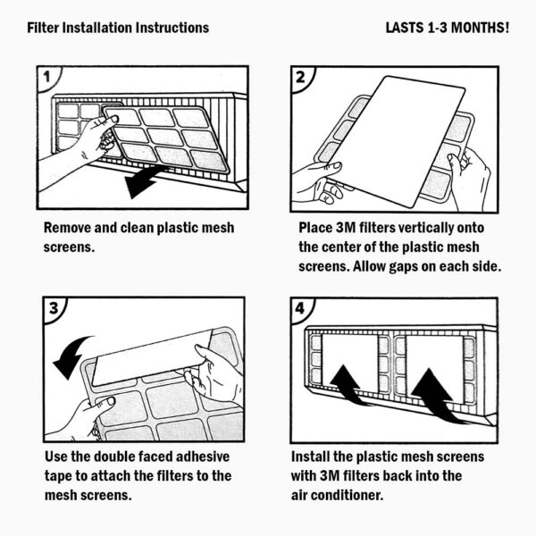 AC Filter Sheet 40 03