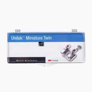 3M™ Unitek™ Miniature Twin Metal Brackets