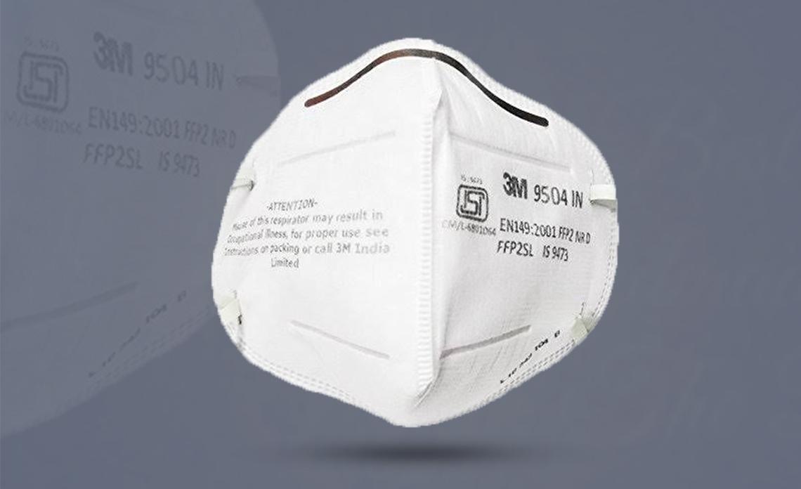 3M 9504 IN FFP2 Particulate Respirator Mask