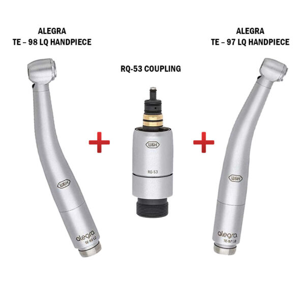 Alegra Handpiece and Coupling RQ53 – Combo Pack