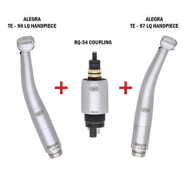 Alegra Handpiece and Coupling RQ54 – Combo Pack